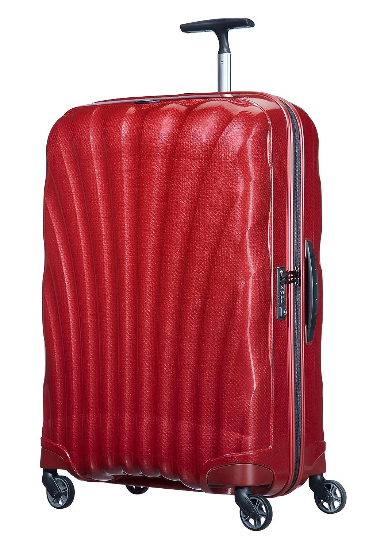 [サムソナイト] スーツケース Cosmolite コスモライト スピナー75 94L 無料預入受託サイズ 保証付 (現行モデル) B01BC1WG8Y レッド レッド