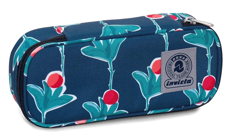 round plus fantasy twist poliestere Bustina Round Plus Invicta Twist Blu e Arancione Scomparto attrezzato per penne FANTASY