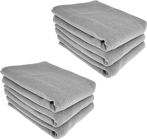 6 x – Trapo/Paño de cocina y gamuza de limpieza/100% algodón en ...