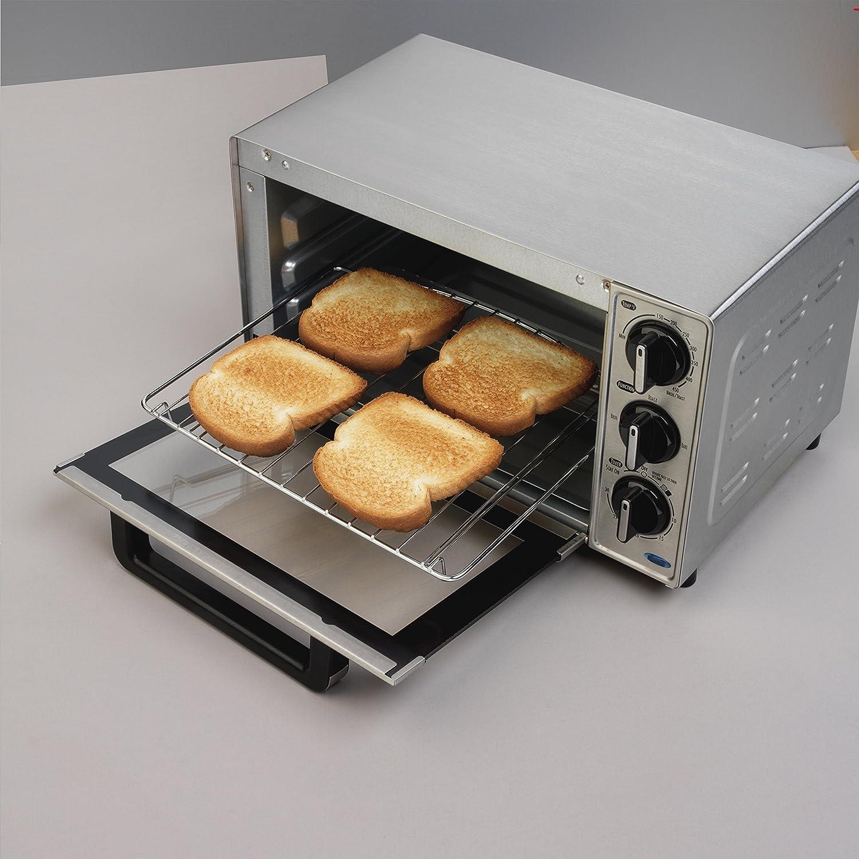 Amazon.com: Hamilton Beach 31143 horno tostador, Plata ...