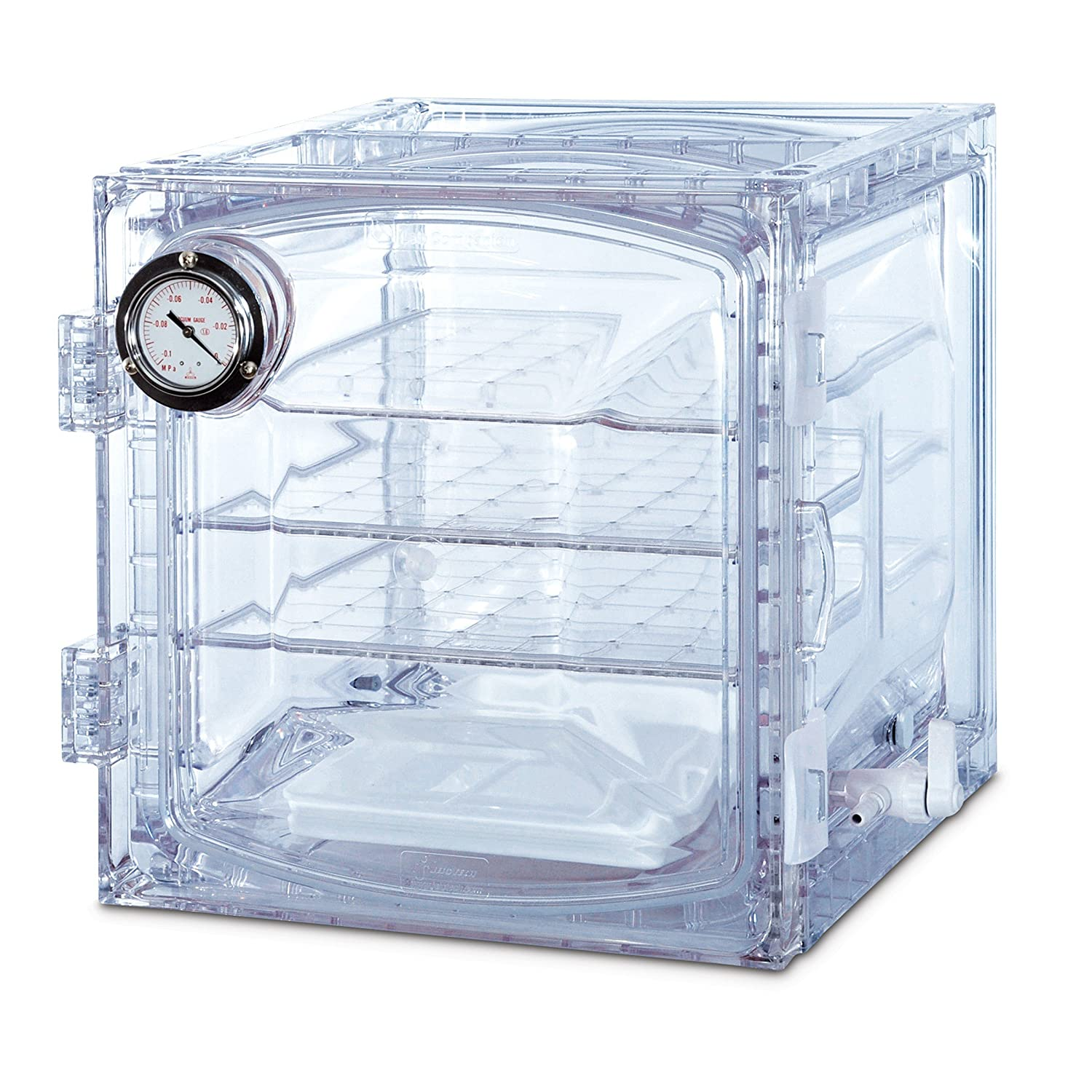 Bel-Art Lab Companion Clear Polycarbonate Cabinet Style Vacuum Desiccator; 35 Liter (F42400-4011) 91RZNVVqtlL