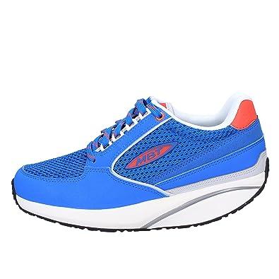 74b2e659cacf MBT Fashion-Sneakers Womens Blue 4 4.5 US