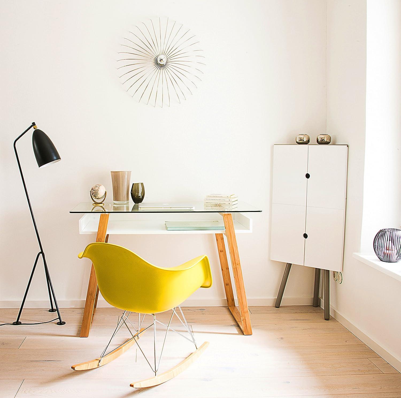 bonVIVO Designer-Schreibtisch MASSIMO, moderner Sekretär in einem ...