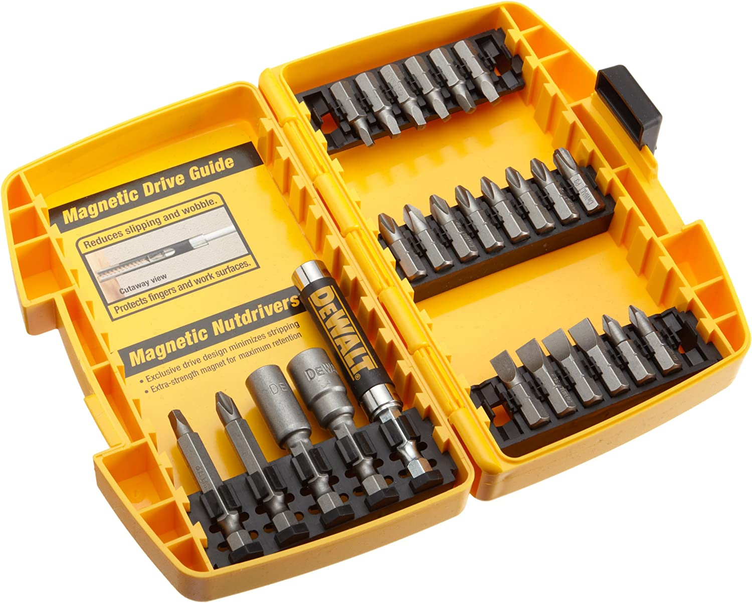 DEWALT DW2167 Screwdriving Set 25-Pieces
