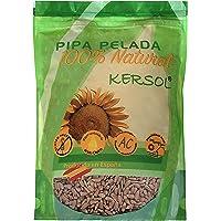 800g Pipa Pelada de Girasol Gourmet - Producida y Pelada en España. Cruda sin sal. SIN GLUTEN. ENVASE CON ZIP