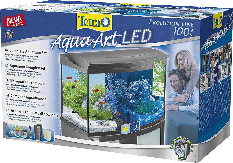 Unterschiedlich Tetra AquaArt Evolution Line LED Aquarium-Komplett-Set 100 Liter  OO42