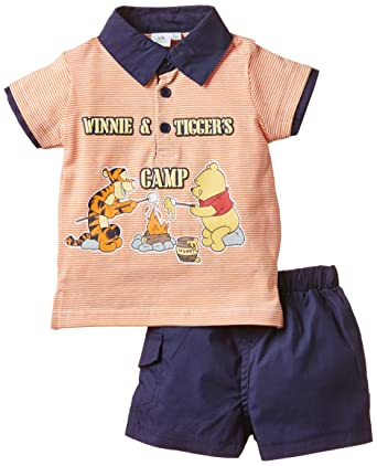 1383d87151726 Disney Baby-Boys Winnie The Pooh Clothing Set, Orange, 9-12 Months  (Manufacturer Size:12 Months): Amazon.co.uk: Clothing