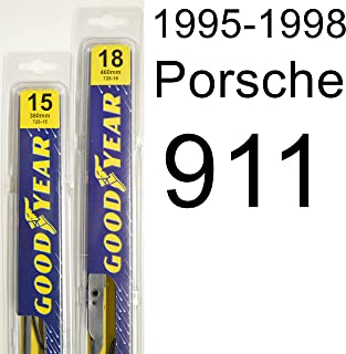 "product image for Porsche 911 (1995-1998) Wiper Blade Kit - Set Includes 15"" (Driver Side), 18"" (Passenger Side) (2 Blades Total)"