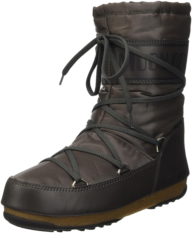 Moon Boot W.e. Soft Shade Mid, Zapatillas de Deporte Exterior Para Mujer41 EU|Grigio (Antracite)