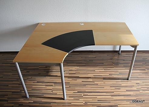 Eckschreibtisch ikea galant  IKEA Galant Schreibtisch 160 cm x 120 cm mit Schreibunterlage und ...