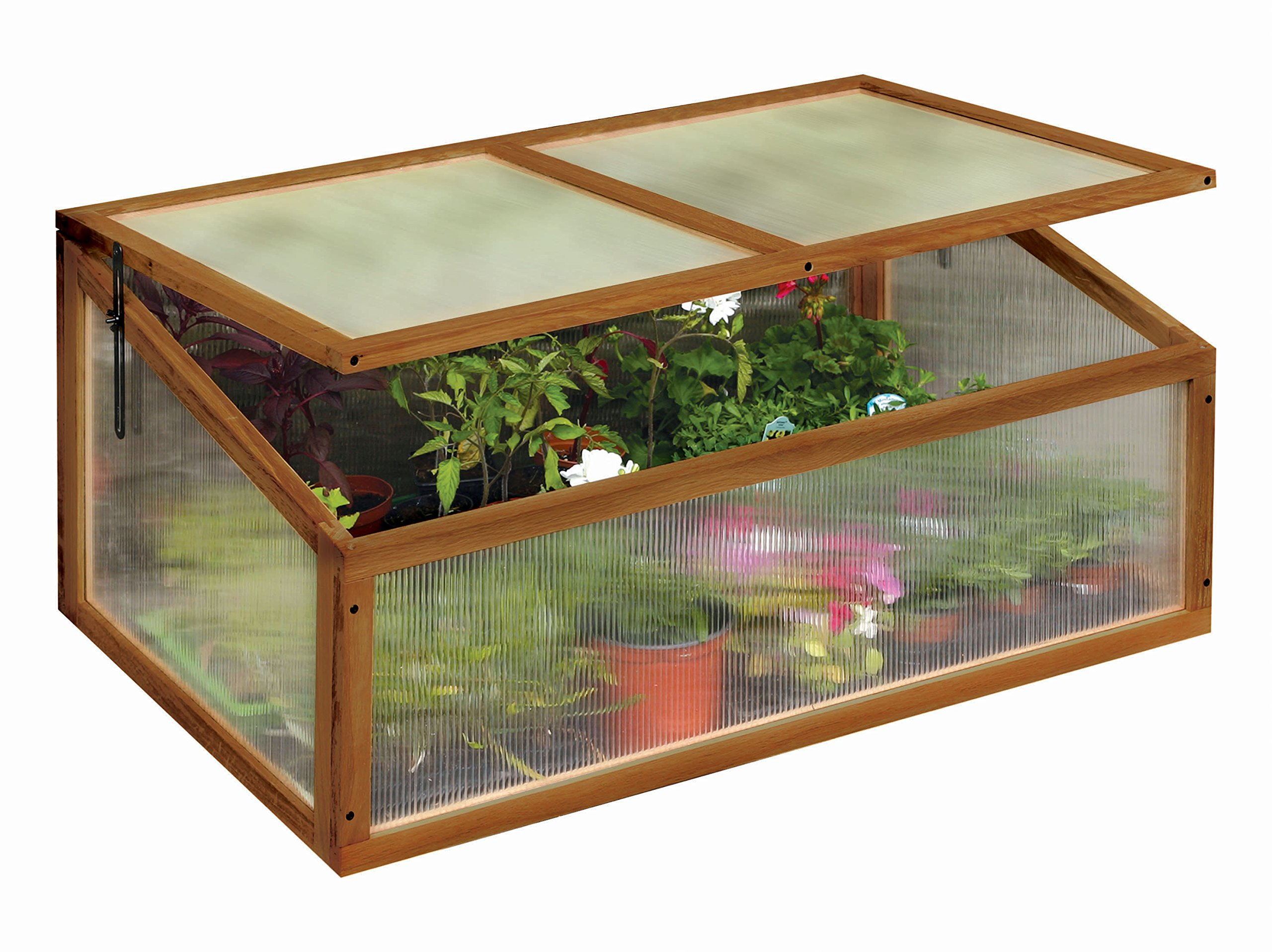 Tierra Garden 50-4400 Haxnicks Cold Frame Hardwood Greenhouse Box