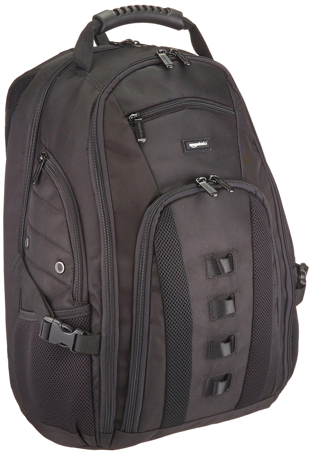 Amazonbasics Travel 17 Inch Laptop Computer Backpack by AmazonBasics