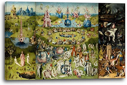 Printed Paintings Impresión Sobre Lienzo (120x80cm): Hieronymus ...