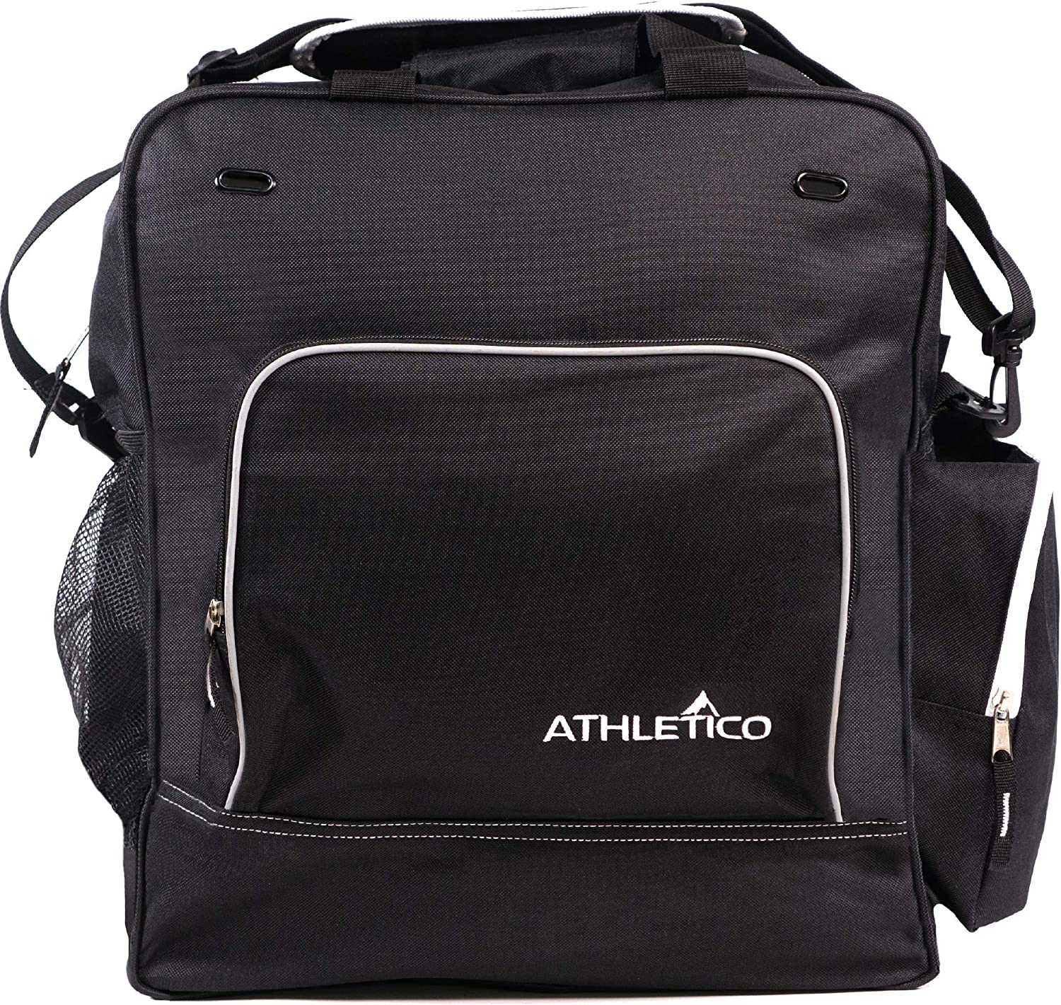Athletico Weekend Ski Boot Bag - Snowboard Boot Bag - Skiing and Snowboarding Travel Luggage - Stores Gear Including Jacket, Helmet, Goggles, Gloves & ...