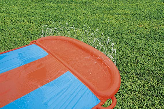 Pista Deslizante Hinchable Bestway H2O Go! Triple 549 cm: Amazon ...