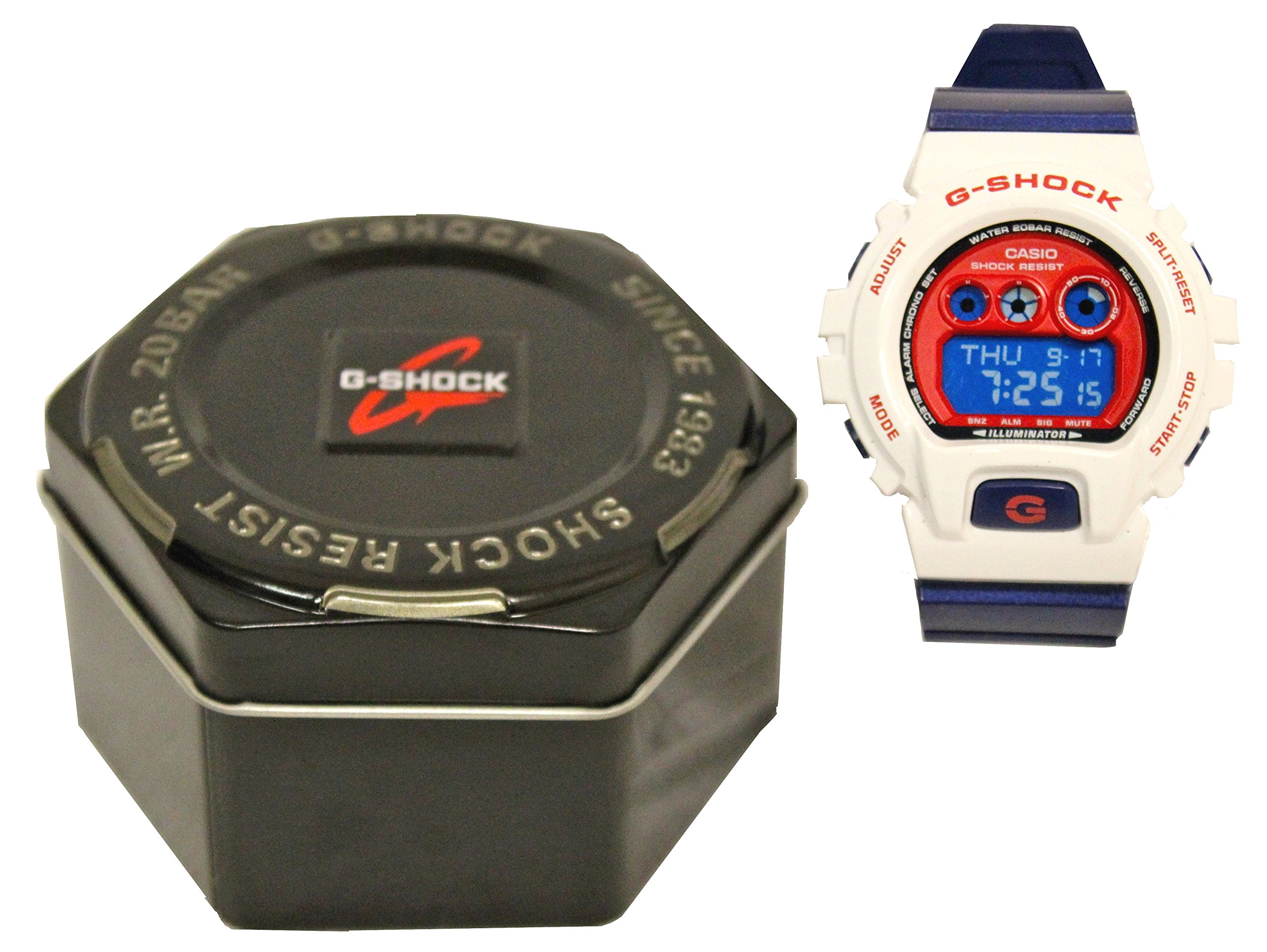 Casio G-Shock Classic Series White Blue Watch GDX6900CS-7