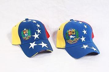 Gorra con los colores de la bandera de Venezuela (oposición).: Amazon.es: Jardín