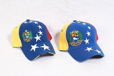 3f068b41f9be Gorra con los colores de la bandera de Venezuela (oposición).