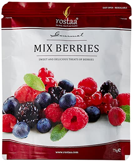 Rostaa Mix Berries Standup Pouch, 75g