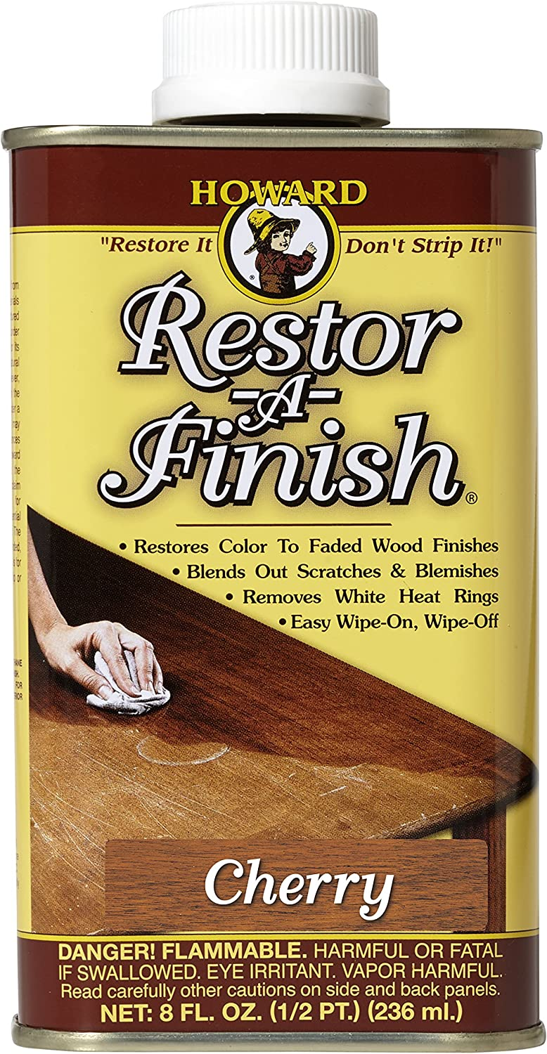 Howard Products RF9008 Restor-A-Finish, 8 oz, Cherry