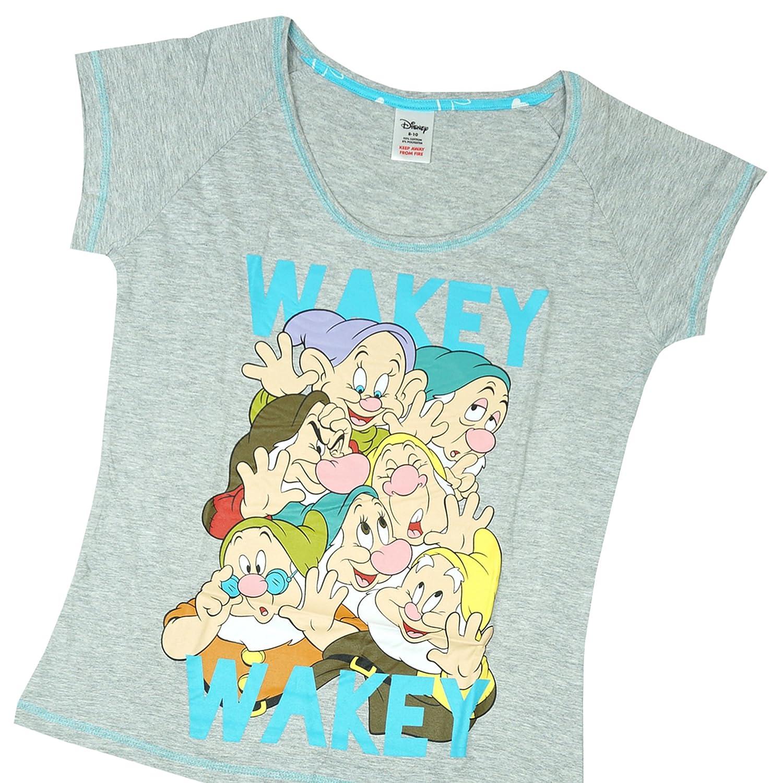 22 Regalo algodón 100 Siete Tallas es Mujer Mujer Amazon 8 Disney Blancanieves Paquete 8 Grandes algodón Pijama 10 a Enanitos De y Ropa Gris de TYqOnY8