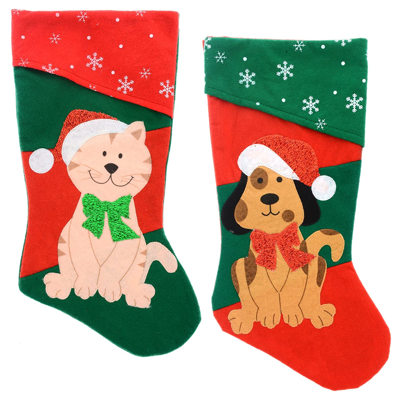 Amazon pets christmas stocking dog or cat your choice dog amazon pets christmas stocking dog or cat your choice dog home kitchen m4hsunfo