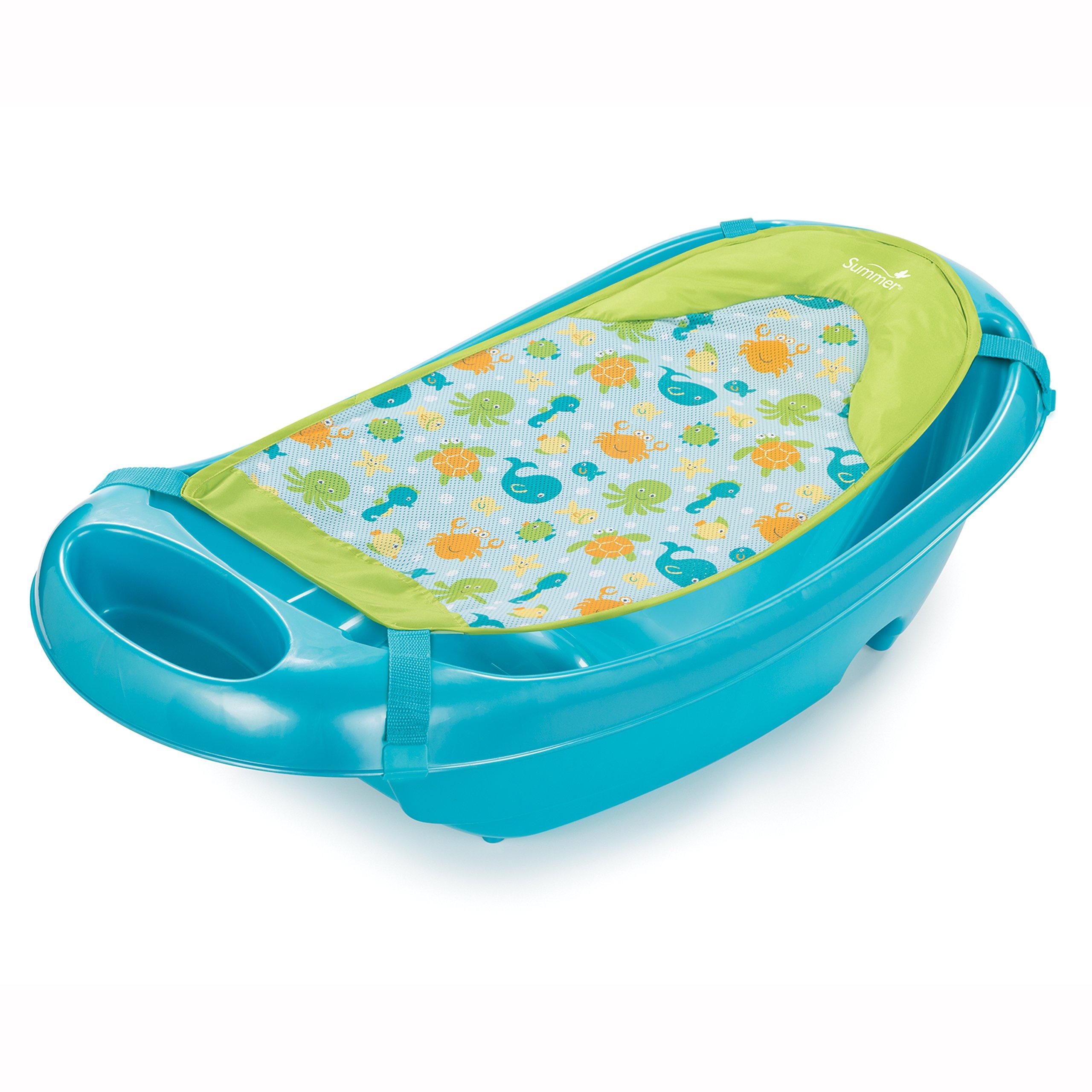 Summer Infant Splish 'n Splash Newborn to Toddler Tub, Blue by Summer Infant