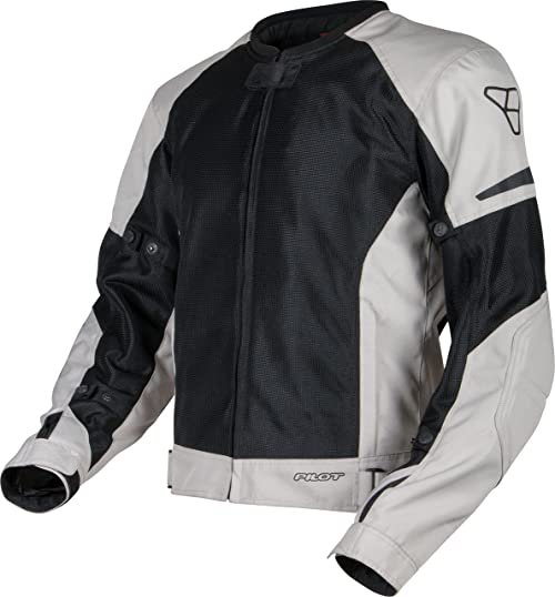 Pilot Motorsport Men's Slate Air Mesh Motorcyle Jacket