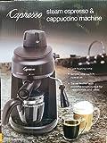 Capresso Steam Espresso & Cappuccino Machine