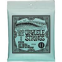 Ernie Ball P02326 Ernie Ball Concert Nylon Ball End Ukulele Strings, Black, NA