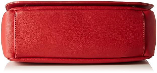 Borsa Veau Pu Rosso, Sac Femmes De L'épaule, La Pourriture (rouge), 17 X 28 10 Cm (lxhxp) Moschino D'amour