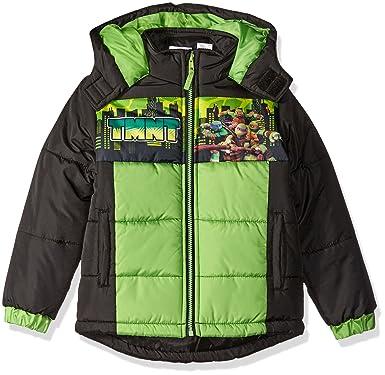 475941c9ac1c Amazon.com  Nickelodeon Boys  Teenage Mutant Ninja Turtles Puffer ...