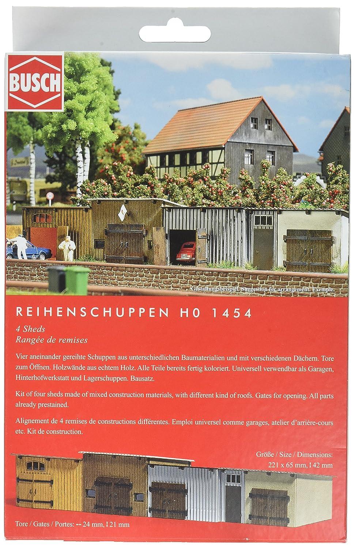 H0 Hinterhof Gebaude Busch 1531 1 87 Neu Stnicola Com
