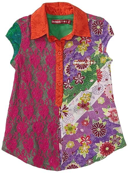 neue Kollektion große Auswahl an Farben viele Stile Desigual Mädchen Bluse 31C3040