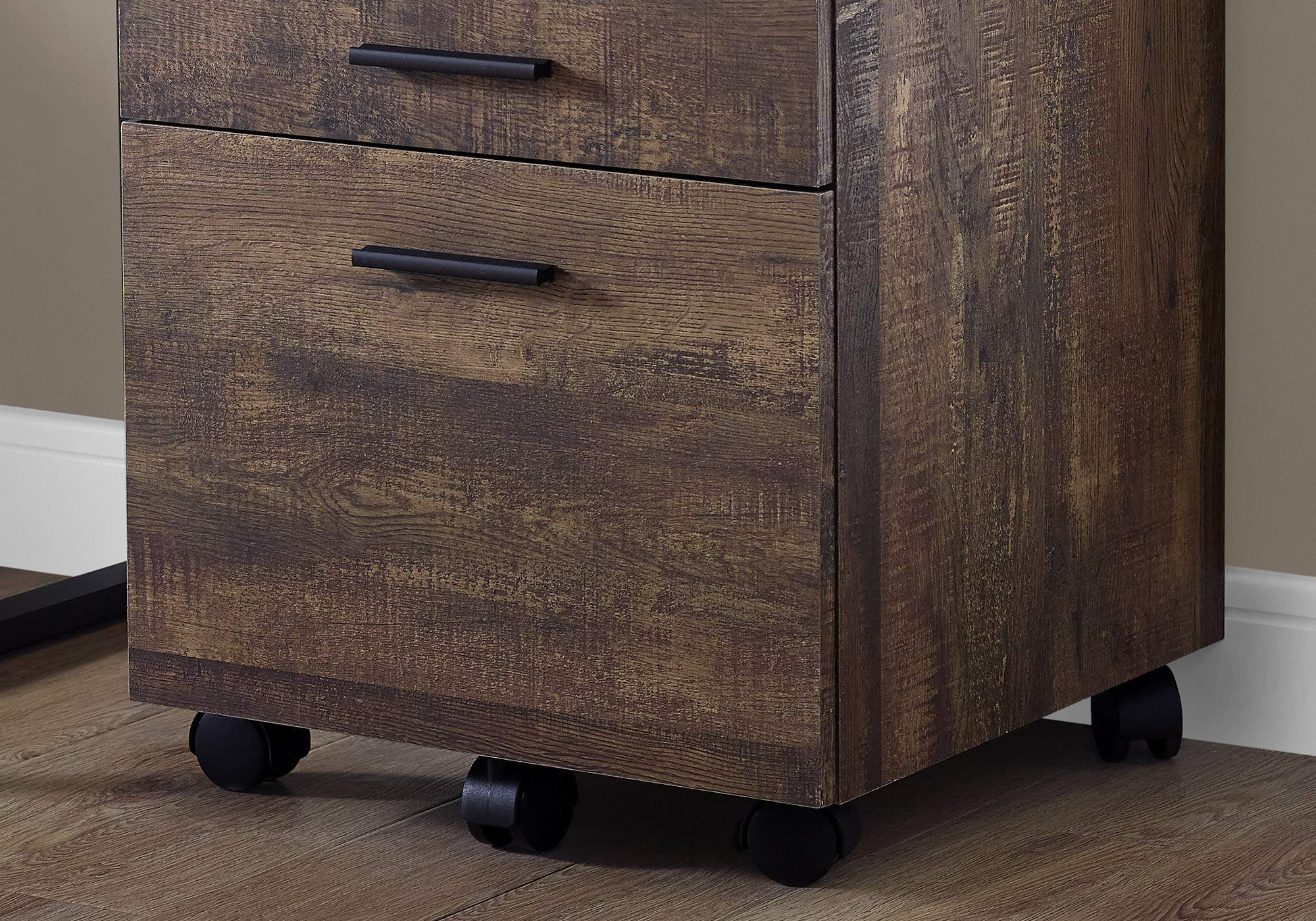 Monarch Specialties I I 7400 Filing Cabinet, Brown by Monarch Specialties (Image #3)