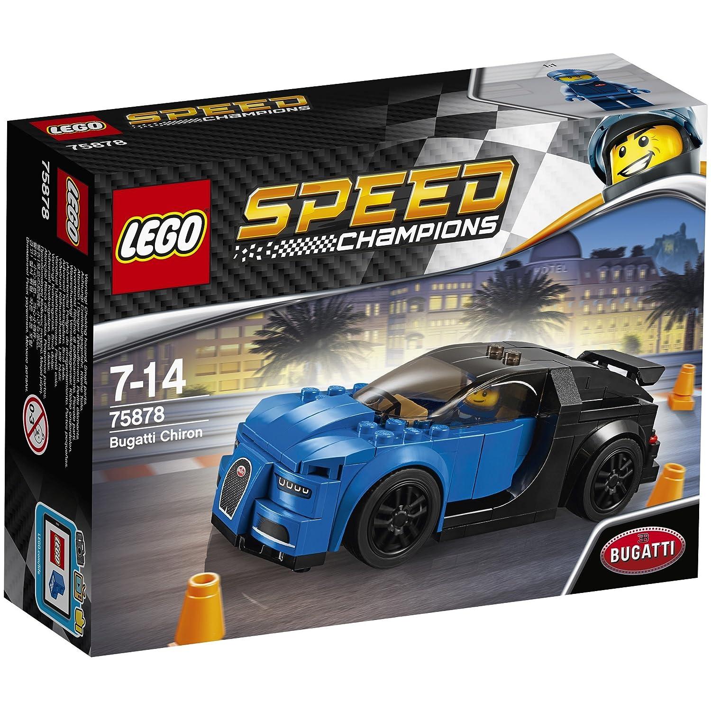 LEGO Speed Champions Bugatti Chiron pieza s juego de construcción juegos de