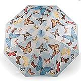 Parapluie enfant parapluie fille avec un motif de papillons