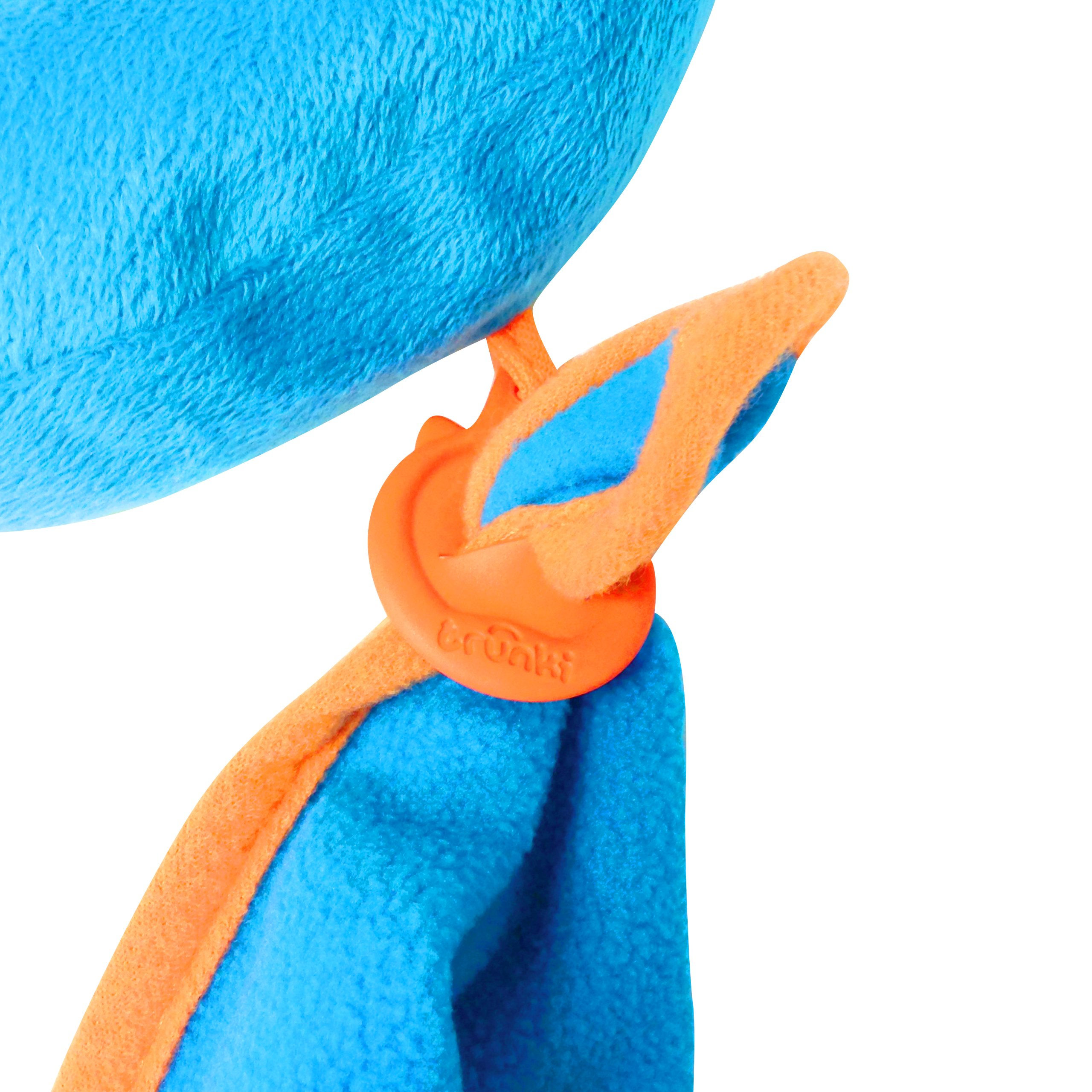 Trunki Kid's Travel Neck Pillow with Magnetic Child's Chin Support - Yondi Small Bert (Blue) by Trunki (Image #3)