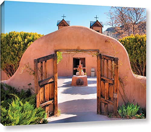 Art Wall 'Gate to Chimayo' Gallery Wrapped Canvas Artwork