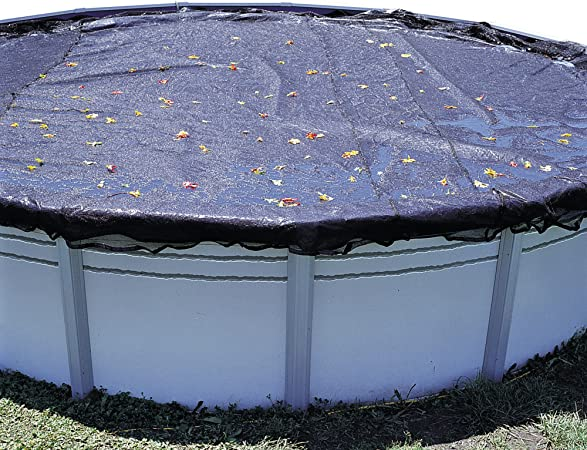 In The Swim 12 x 24 Foot Oval Above Ground Pool Leaf Net Cover