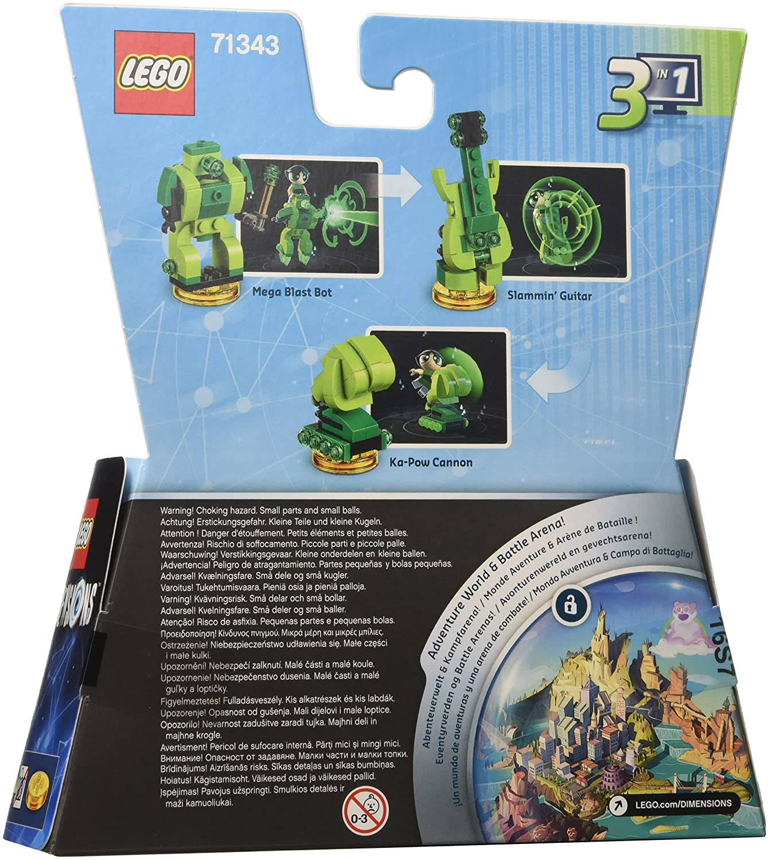 Amazon.com: LEGO Dimensions, Fun Pack, Powerpuff Girls, 2 Figuren ...