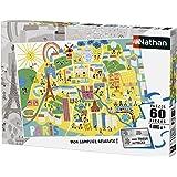 Nathan - 86566 - Puzzle - Plan de Paris - 60 pièces
