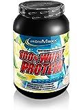 IronMaxx 100% Whey Protein / Eiweißpulver für Fitness-Shake / Wasserlösliches Proteinpulver mit Banane-Joghurt Geschmack / 1 x 900 g Dose