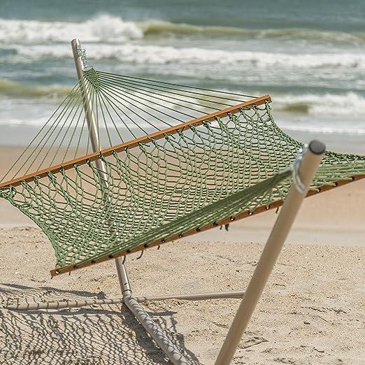 amazon     hatteras dc 14ab large duracord rope hammock   antique brown   garden  u0026 outdoor amazon     hatteras dc 14ab large duracord rope hammock      rh   amazon