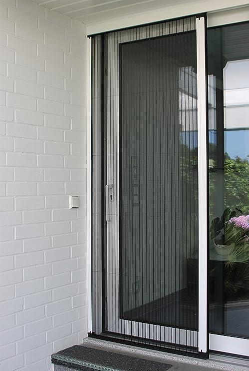 Mosquitera plisada para puertas - Dimensiones: ancho:de 950 a 1900 ...