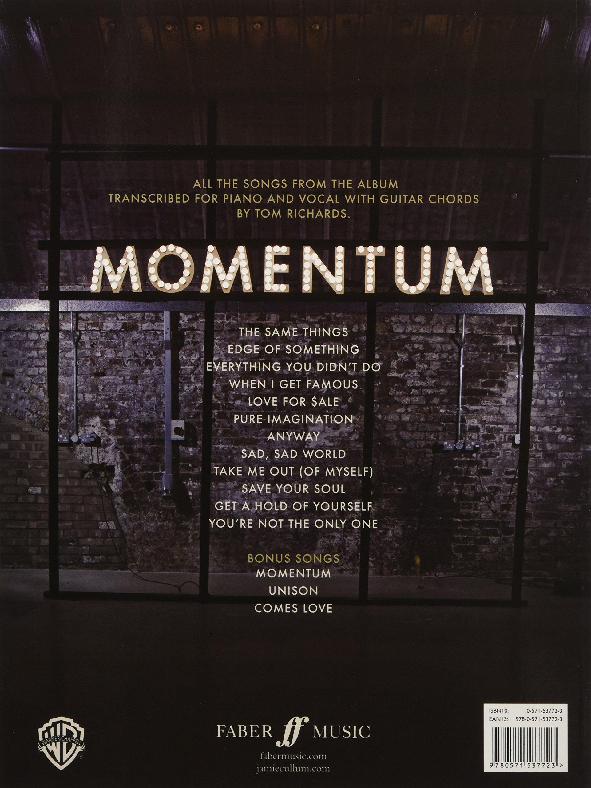 Momentum piano voice and guitar amazon jamie cullum momentum piano voice and guitar amazon jamie cullum 9780571537723 books hexwebz Gallery