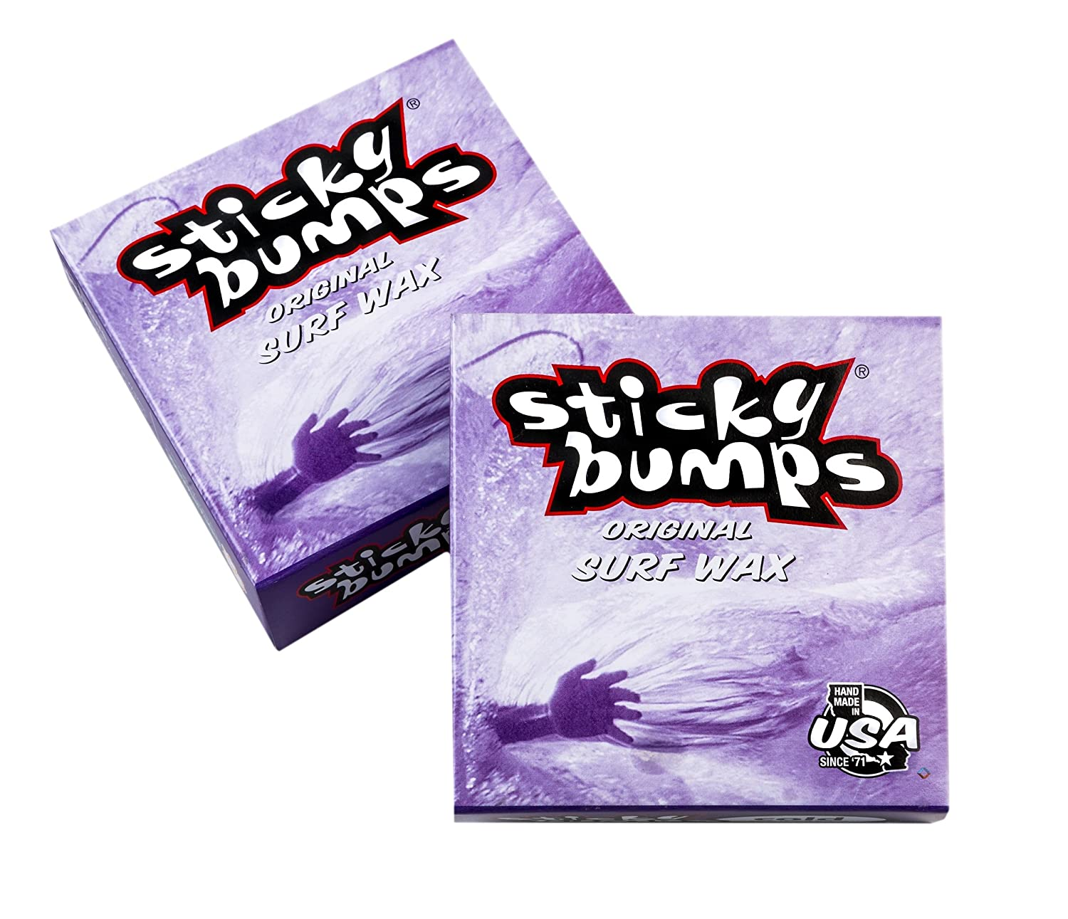 Sticky Bumps Cold Surf Wax Pack of 3 White