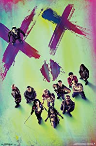 """Trends International Suicide Squad Teaser Wall Poster 22.375"""" x 34"""""""