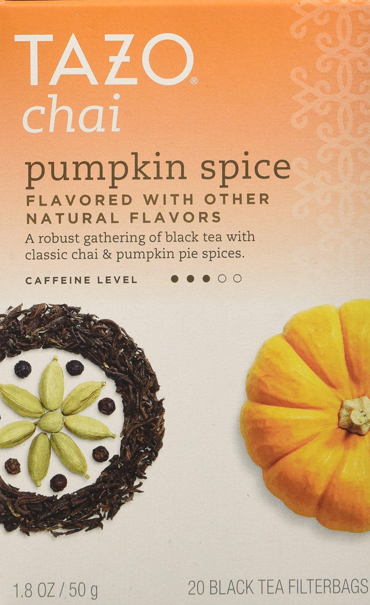 Tazo Chai Pumpkin Spice :: Box of 20 Teabags