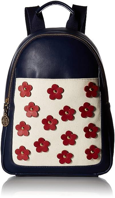 Tommy Hilfiger - Bolso Mochila para Mujer Azul Azul Marino: Amazon.es: Zapatos y complementos